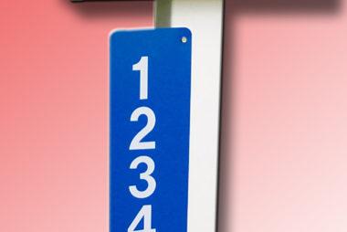 Buy an address sign
